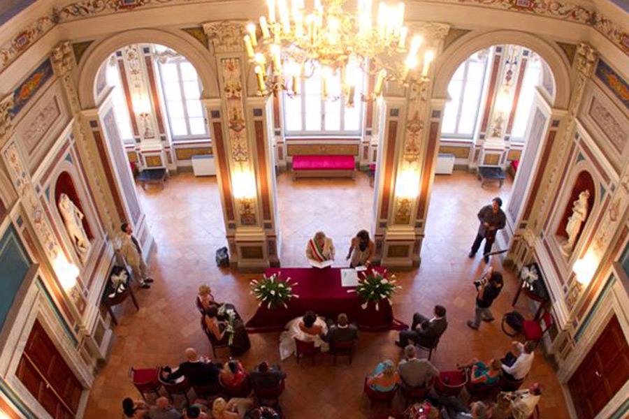 town hall ceremony legally binding wedding iatly