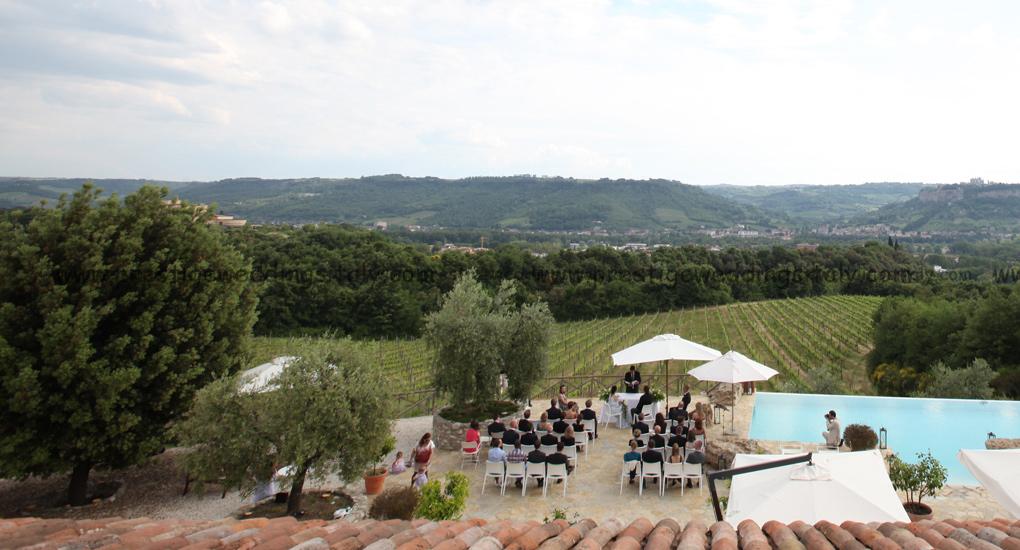 Villaer og slott til disposisjon for ditt bryllup i Italia