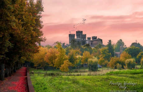 Wedding castle in Orvieto for your fairytale wedding