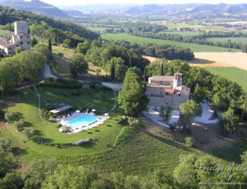 Castle wedding in Umbria