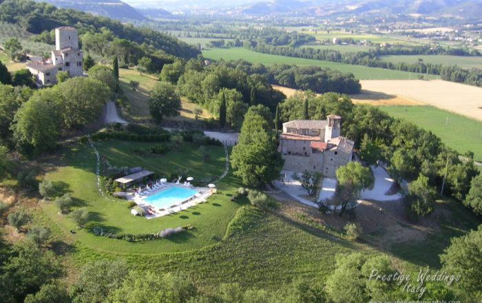 wedding castle in Italy