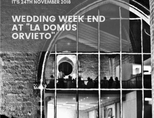 Wedding Week end in Orvieto