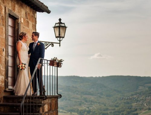 Kelly and Gary real wedding in Orvieto – La Domus