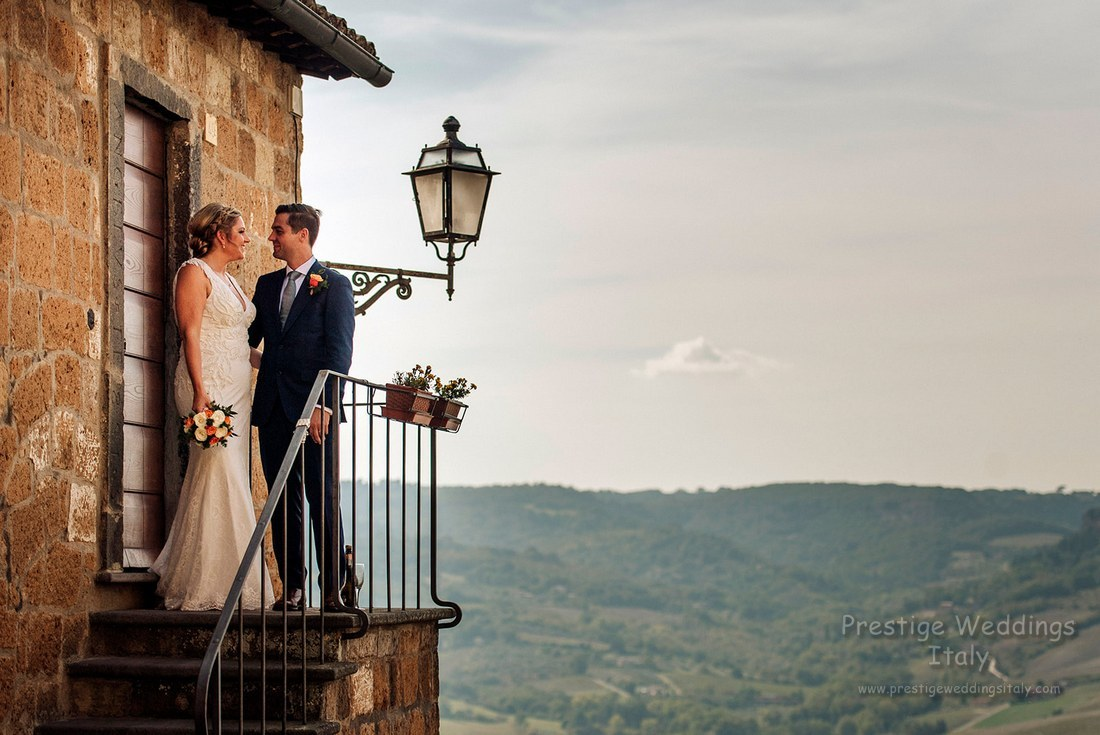 La Domus wedding in Orvieto