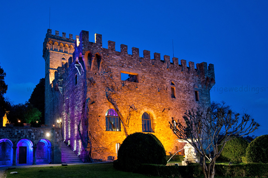 wedding castle in Italy for wedding in Italy