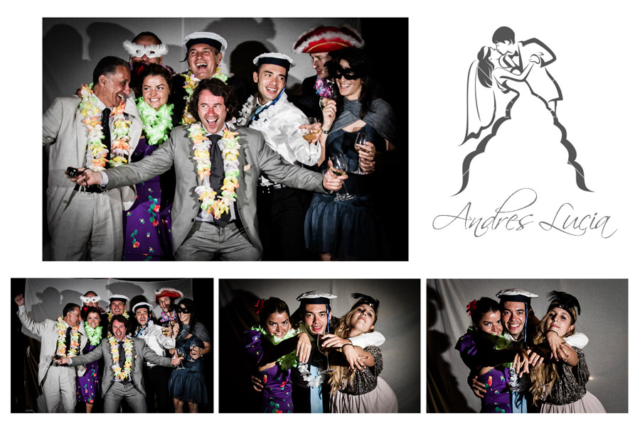 Photobooth service for wedding in Italy