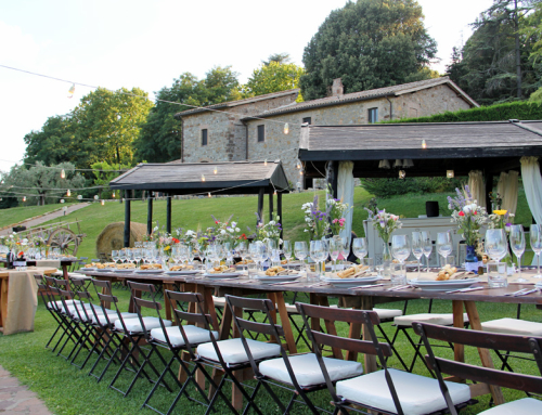 Country style wedding in Italy