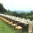 wedding italy, long table decor,
