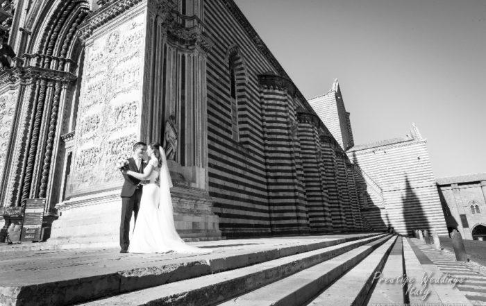 Real wedding La Domus Orvieto