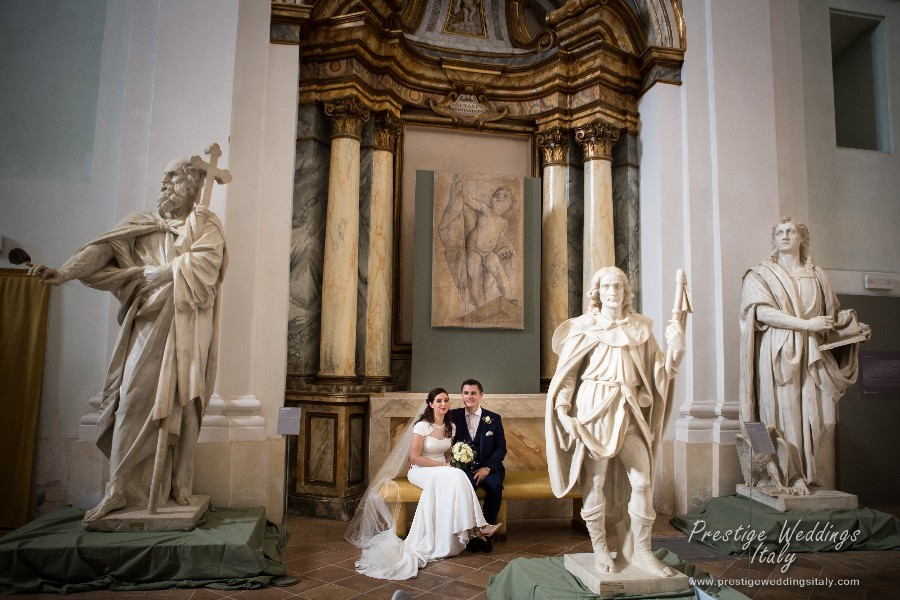 Real wedding La Domus Orvieto