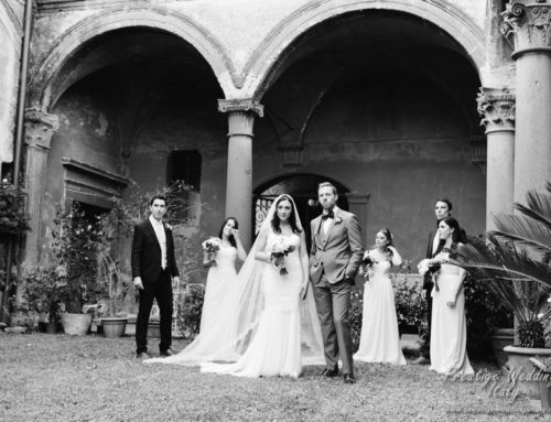 La Domus Orvieto wedding venue Real wedding Ciara and Craig