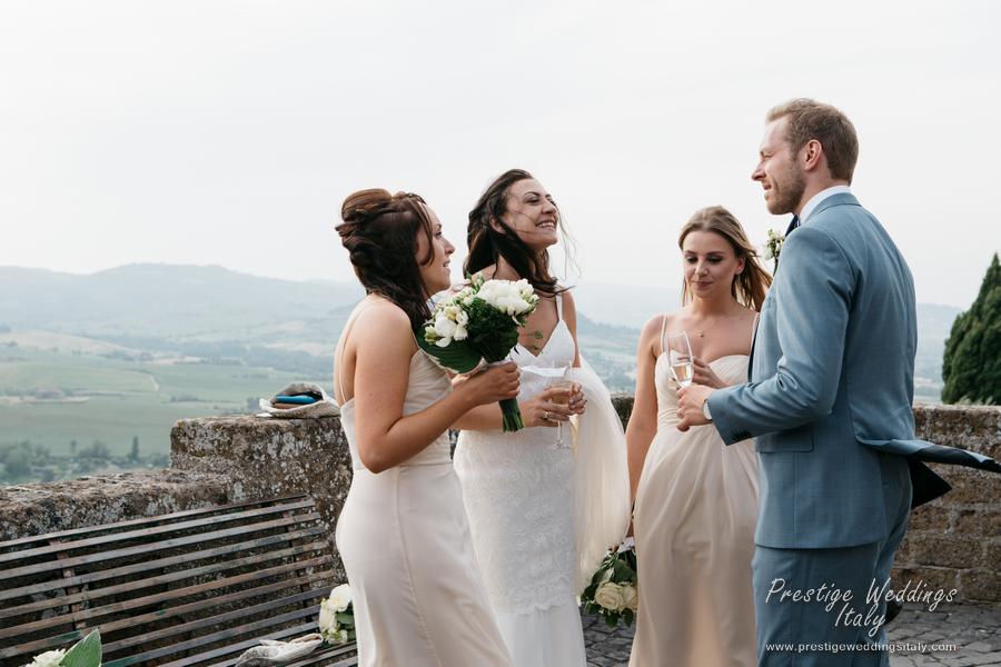 La Domus Orvieto wedding venue Real wedding