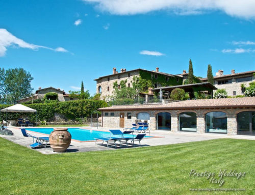 Wedding borgo in Tuscany to rent in Exclusive