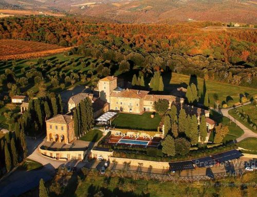Wedding borgo to rent in exclusive use in Tuscany