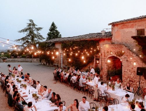 Wedding in a Tuscan villa