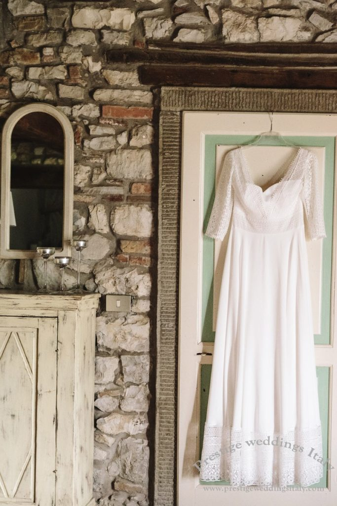 Wedding dress - Tuscany