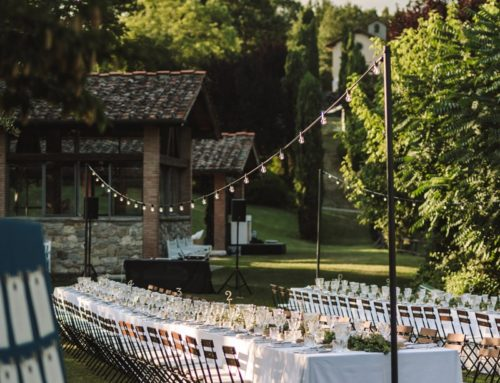 Real wedding in a Tuscan borgo