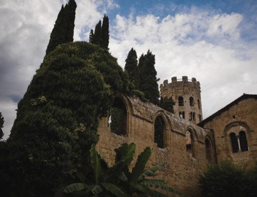 Wedding Orvieto in an old abbey