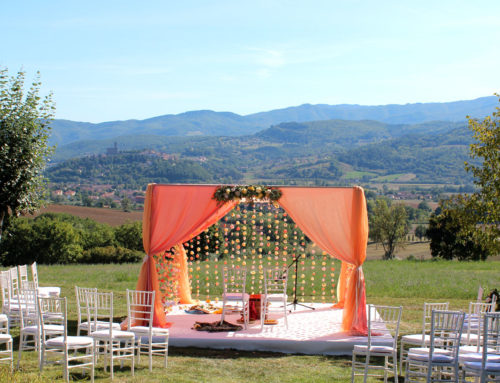 Indian wedding in Tuscany